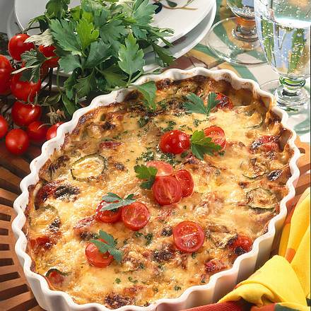 Kartoffel-Gemüse-Gratin Rezept