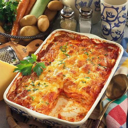 Kartoffel-Gemüse-Lasagne Rezept