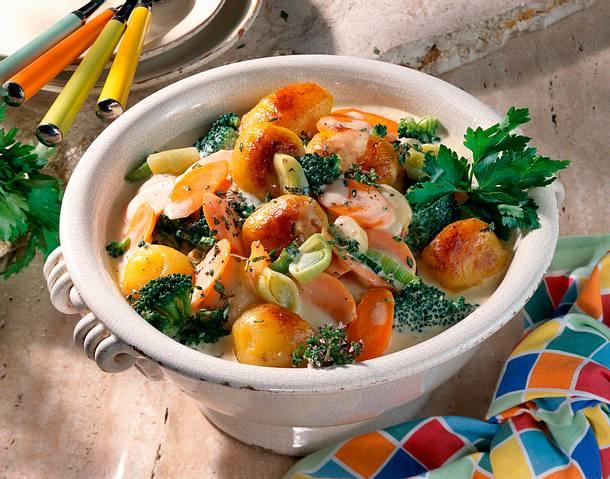 Kartoffel-Gemüse Ragout Rezept