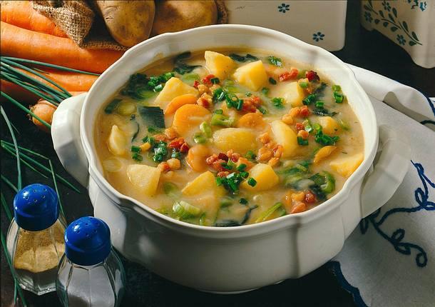 Kartoffel-Gemüse-Suppe Rezept