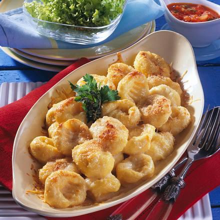 Kartoffel-Gnocchi und Tomatensoße Rezept
