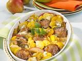 Kartoffel-Gratin mit Medaillons in Gorgonzolacreme Rezept