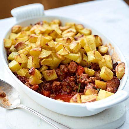 Kartoffel-Hack-Pie Rezept