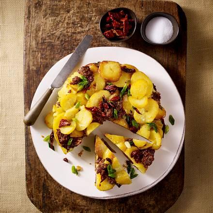 Kartoffel-Hack-Tortilla Rezept