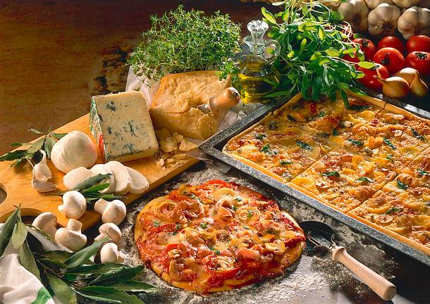 Kartoffel-Käse-Pizza Rezept