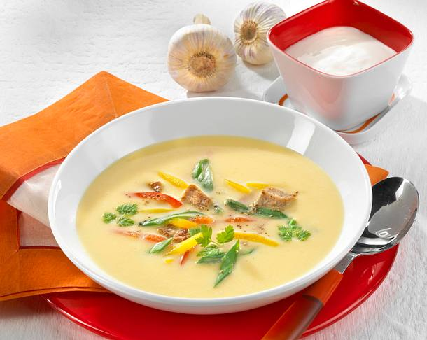 Kartoffel-Kefir-Suppe Rezept