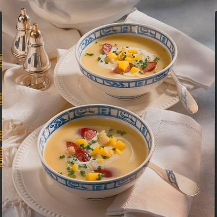 kartoffel knoblauch suppe rezept chefkoch rezepte auf kochen backen und schnelle. Black Bedroom Furniture Sets. Home Design Ideas