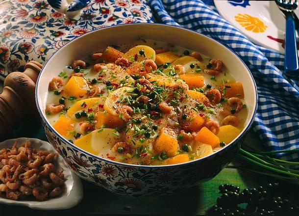 Kartoffel-Kürbis-Ragout Rezept