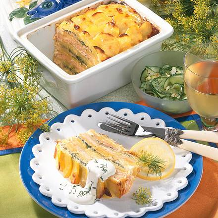 Kartoffel-Lachs-Pastete Rezept