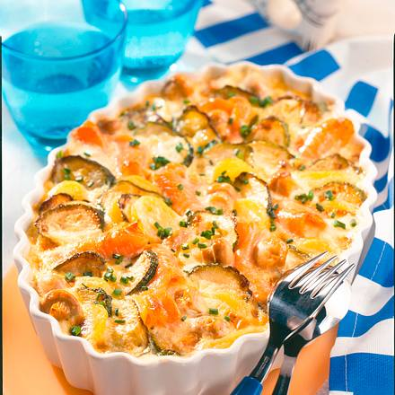 Kartoffel-Lachsgratin Rezept