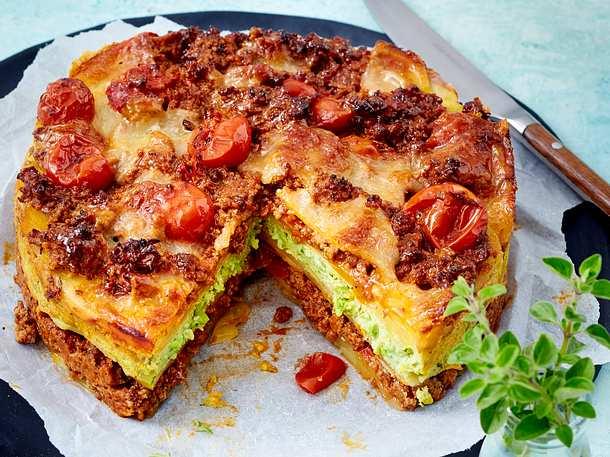 Kartoffel-Lasagne mit Ricotta und Bärlauch Rezept