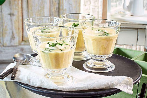 Kartoffel-Lauch-Rahmsuppe Rezept