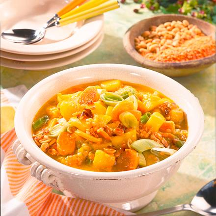 Kartoffel-Linsen-Curry Rezept