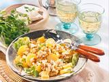 Kartoffel-Linsen-Salat mit Schafskäse Rezept