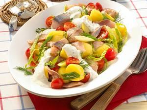 Kartoffel-Matjes-Salat Rezept