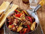 Kartoffel-Mett-Pfanne Rezept