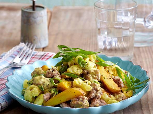 Kartoffel-Mett-Salat Rezept