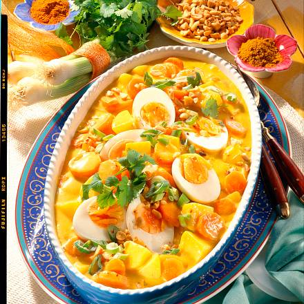 Kartoffel-Möhrn-Curry Rezept