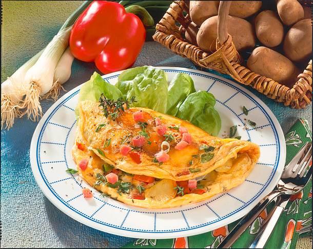 Kartoffel-Omelette Rezept