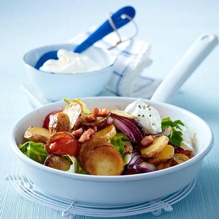 Kartoffel-Pfanne mit Spitzkohl Rezept