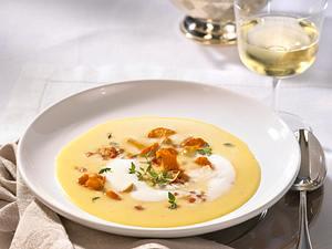 Kartoffel-Pfifferlings-Suppe Rezept