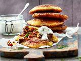 Kartoffel-Pilz-Pancakes Rezept
