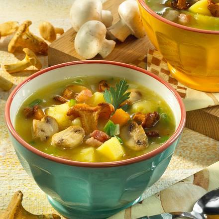 Kartoffel-Pilzsuppe Rezept