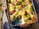 Kartoffel-Rosenkohl-Auflauf fürs schmale Budget Rezept