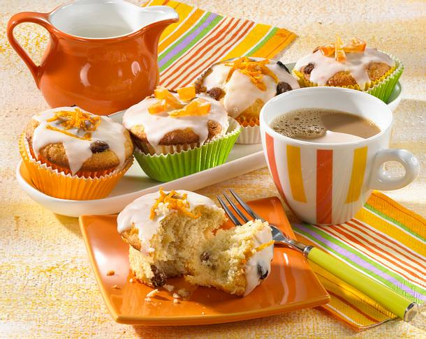Kartoffel-Rosinen-Muffins Rezept
