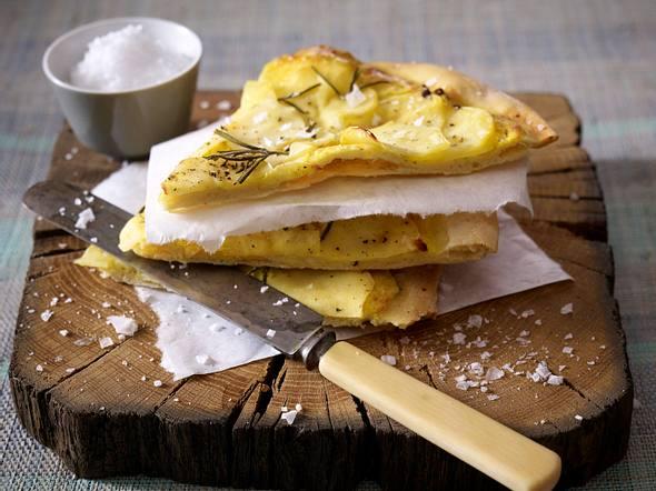 Kartoffel-Rosmarin-Pizza Rezept