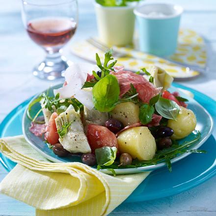 Kartoffel-Salami-Salat Rezept