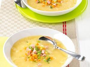 Kartoffel-Sellerie-Suppe Rezept