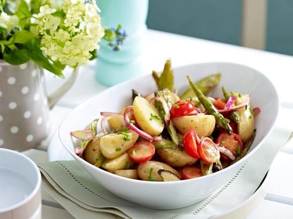 Kartoffel-Spargel-Salat Rezept