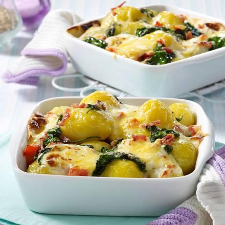 Kartoffel-Speck-Pfännchen Rezept