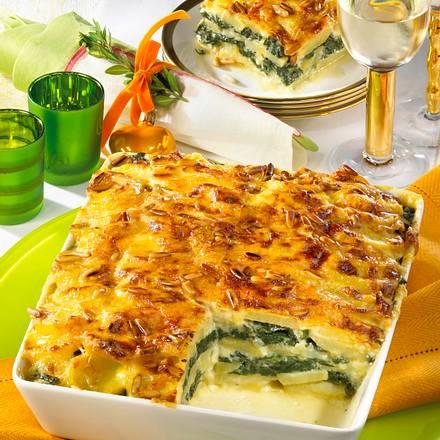 kartoffel spinat lasagne rezept chefkoch rezepte auf kochen backen und schnelle. Black Bedroom Furniture Sets. Home Design Ideas