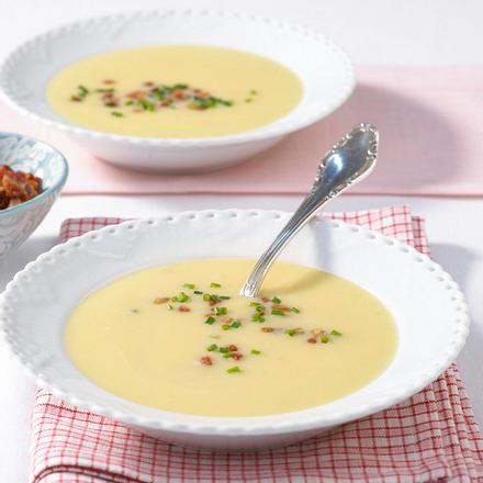 Kartoffel-Steinpilz-Suppe Rezept