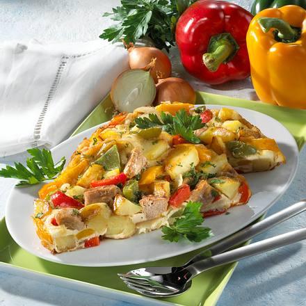 Kartoffel-Thunfisch-Omelett Rezept