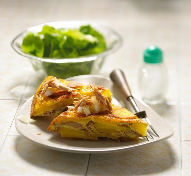 Kartoffel-Thunfisch-Tortilla Rezept