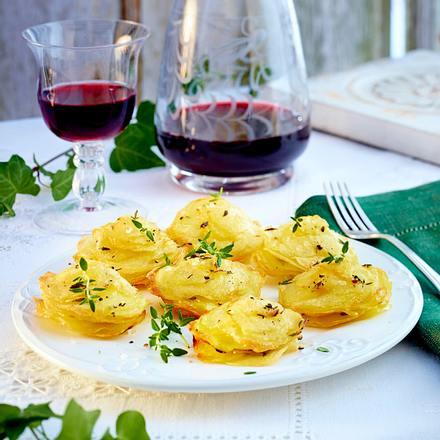 Kartoffel-Thymian-Küchlein Rezept