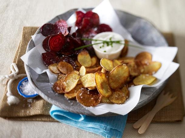 Kartoffel- & Rote Bete-Chips Rezept