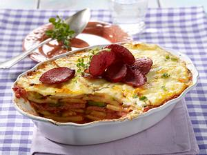 Kartoffel-Zucchini-Lasagne Rezept
