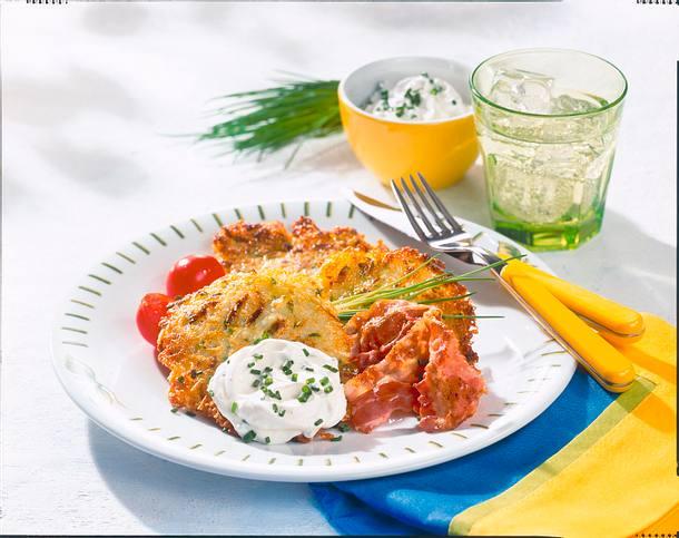 Kartoffel-Zucchini-Puffer Rezept