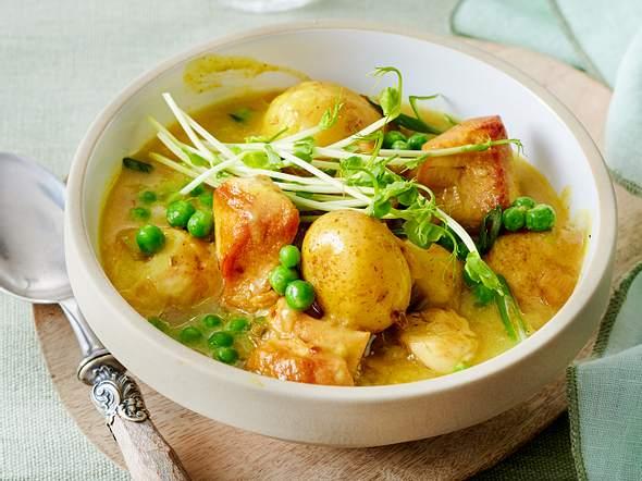 Kartoffelcurry Rezept