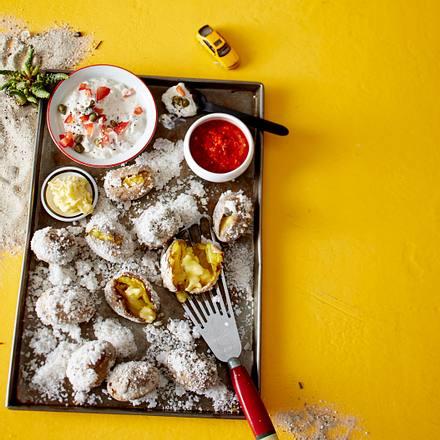 Kartoffeln in Salzkruste Rezept