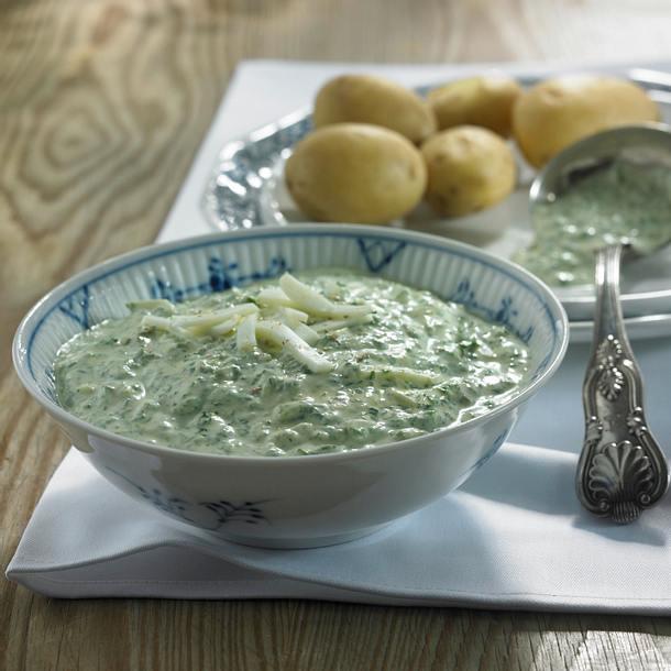 Kartoffeln mit Grüner Soße Rezept