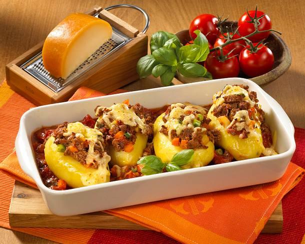 Kartoffeln mit Hackfüllung Rezept
