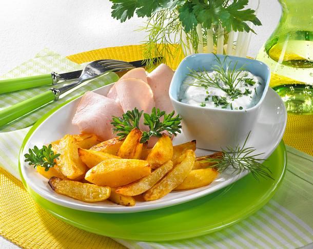Kartoffeln mit Kräuter-Quark Rezept