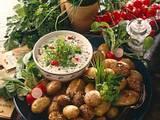 Kartoffeln mit Kräuterquark Rezept