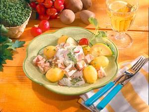 Kartoffeln mit Sülze Rezept