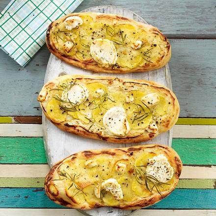 Kartoffelpizzen Rezept